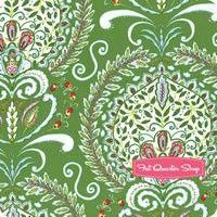 Merry Mistletoe Green Peyton Yardage SKU# PWDF232-GREE