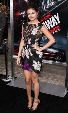 Selena Gomez Cocktail Dress