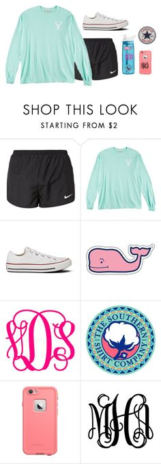 """""""What do you mean?"""" by cammie0825 ❤ liked on Polyvore featuring mode, NIKE, Converse, CamelBak, Vineyard Vines, women's clothing, women's fashion, women, female et woman"""