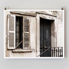 """Paris Photography, """"Black Door"""" Paris Print, Large Art Print Fine Art Photography by TheParisPrintShop on Etsy https://www.etsy.com/ca/listing/84075585/paris-photography-black-door-paris-print"""