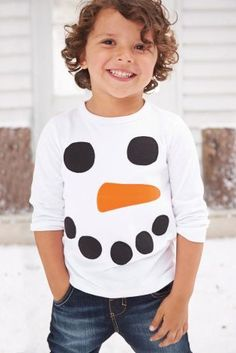 Buy White Snowman Tee (3mths-6yrs) from the Next UK online shop