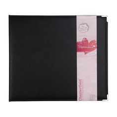 """12 x 12"""" Album D-Ring (10 Page Protectors) - Chesterfield 