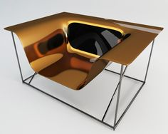 Great for thermoforming. EM Chair by Camilo A.R Marquez, via Behance