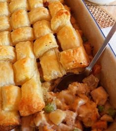 Chicken & Sweet Potato Pot Pie!!    Warm and delicious for Fall!