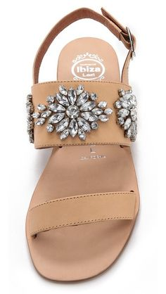 Jeffrey Campbell jeweled sandals