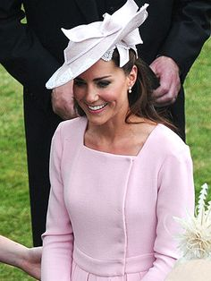 Kate re-wears the same $2,000 pink Emilia Wickstead coat dress she wore less than two weeks ago! Read more: http://www.people.com/people/package/article/0,,20395222_20599223,00.html