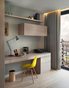 Bedroom Door Design, Bedroom Furniture Design, Home Room Design, Home Office Design, Home Interior Design, Home Library Rooms, House Rooms, Study Table Designs, Home Office Cabinets
