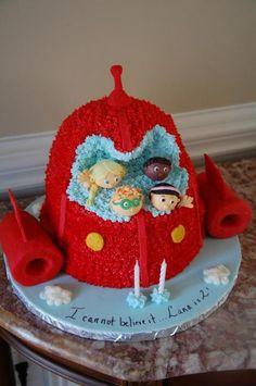 Little Einstein Birthday Cake
