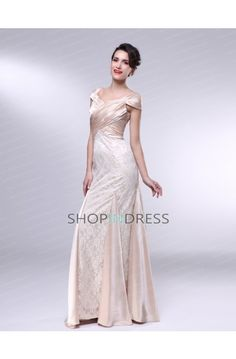 Ivory Evening Dress Prom Dress Formal Dresses
