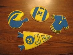 Michigan-themed cookies