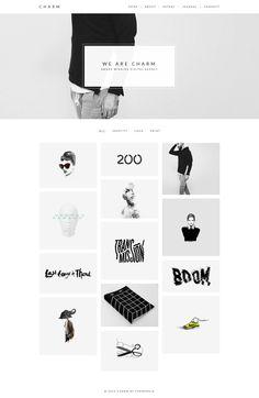Charm – Portfolio for Freelancers & Agencies Theme #website #wordpress Download: http://themeforest.net/item/charm-portfolio-for-freelancers-agencies/11364023?ref=ksioks