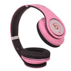 Monster Beats Studio Headphones In Pink Diamond Limited