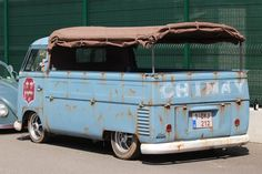 water is for cooking not for cooling : Foto Volkswagen Transporter, Volkswagen Bus, Vw T1, Vw Kombi Van, Vw Pickup, Vw Cars, Camper, Classic Trucks, Cars And Motorcycles