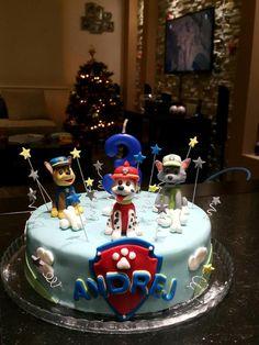 Paw Patrol Cake, Chocolate Filling, 5th Birthday, Cakes, Desserts, Handmade, Food, Pies, Tailgate Desserts