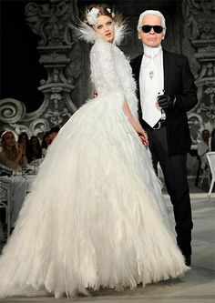 Chanel Wedding Dress | CLICK ON IMAGE FOR FULL GALLERY OF CHANEL BRIDAL COUTURE