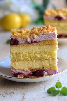 Pastry Cake, Yummy Cakes, Vanilla Cake, Food And Drink, Recipes, News, Deserts, Food, Bakken