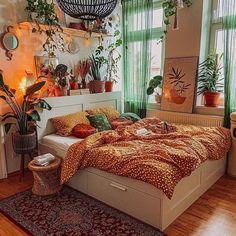 Room Design Bedroom, Room Ideas Bedroom, Bedroom Inspo, Bedroom Decor, Bedroom Interiors, Bedroom Apartment, Dream Rooms, Dream Bedroom, Cozy Room