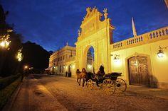 Tivoli Palácio de Seteais, Portugal - A perfect white palace.    #honeymoondestination #Tivolipaláciodeseteais