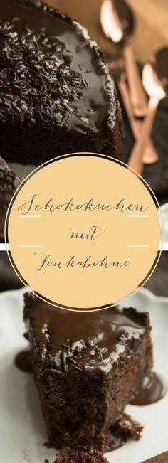 Köstlicher Schokoladen-Kuchen mit Tonkabohne - einfaches und schnelles Rezept für einen super saftigen Kuchen