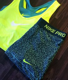 Nike Pro Compression Shorts #Volt #Womens #Fitness