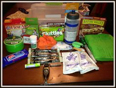 Guest Post - Zombie Apocalypse Survival Kit - Glued To My Crafts