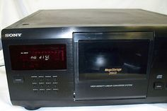 SONY CDP-CX205 HOME THEATER AUDIO MEGA STORAGE SYSTEM 200 CD PLAYER CHANGER eBay Auction $49.98