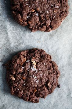 Chocolate chip cookies with coffee, orange and pecans