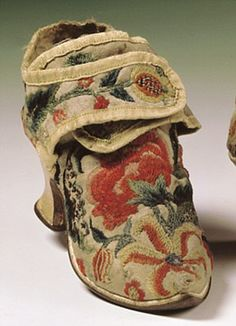 victorian tapestry shoe