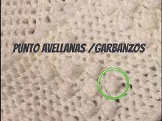PUNTO AVELLANA / GARBANZOS, Bodoques o Nudos en Tejido Telar - Loom Knit Popcorn / Bobble Stitch - YouTube