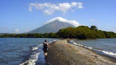 La Isla Ometepe | El istmo de Istian en la Isla de Ometepe. Internet / END