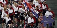 Equestrian rider Lee Pearson led out Great Britain Rio Paralympics 2016  www.viralmp4.com