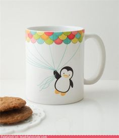 I feel like my work day would always be a lot better if it started out with coffee in this.