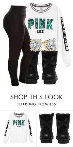 """""""#schoolfit"""" by eazybreezy305 ❤ liked on Polyvore featuring UGG Australia, schoolflow, schoolstyle and bts"""