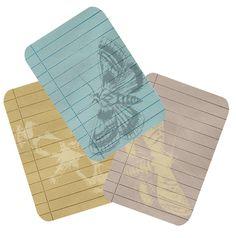 Wild@heart: Friday freebie - moth tags