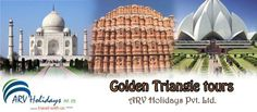 Book Golden Triangle Tour with ARV Holidays  Explore the three famous Golden Triangle destinations of India with arvholidays.com. Get to explore the dynamic history and culture of Delhi, Agra and Jaipur.