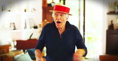 Dick Van Dyke And Wife Dance To The Dustbowl Revival - Music Video