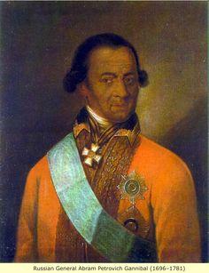 Абрам Петрович Ганнибал (1696-1781)