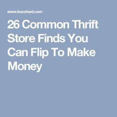 Resale Ideas Make Money 26 Common Thrift Store Finds You Can Flip To Make Money This is your chance to grab 100 great products WITH Master Resale Rights for mere pennies on the dollar! Thrift Store Shopping, Thrift Store Finds, Thrift Stores, Goodwill Finds, Online Shopping, Hudson Bay Blanket, Flea Market Finds, Flea Markets, Shops