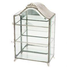 Glass cupboard for jewelry