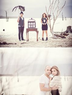Cute for engagement photo