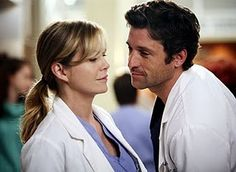 """Grey's Anatomy S1.8 Meredith to Derek """"Show me something. Give me a reason to believe."""""""