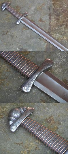 Magnificent viking sword, hilt, handle, and pommel! http://www.sword.cz/swords.htm