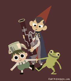 gif over the garden wall patrick mchale wirt otgw Nick Cross jason funderberker Garden Wall Art, Over The Garden Wall, Gravity Falls, Adventure Time, Cool Cartoons, Animated Cartoons, Fandoms, Deco, Nerdy