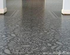 Plywood Floor DIY