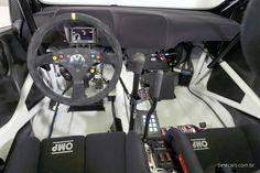 VW Polo R WRC cockpit, interior.