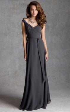 sku:zyh040; Silhouette:A-line; Hemline:Floor-length; Fabric:Chiffon; Back…