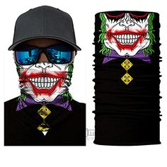 Accessories 12 in 1 Outdoor Climbing Hiking Cycling Skiing Fishing Motorcycling Camping Running Skateboarding UV Protection Windproof Quick Dry Bandana Neck Gaiter Magic Scarf Balaclava Face maskf Bandeau Sport, Motorcycle Face Mask, Motorcycle Bike, Women Motorcycle, Pirate Face, Tapas, Skull Face Mask, Face Masks, Skull Scarf
