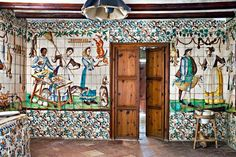 cuina de la casa del Marques de Benicarló,del segle XVIII