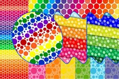 Solve Sunday dots - large jigsaw puzzle online with 176 pieces Rainbow Stuff, Puzzle Online, Missing Piece, Jigsaw Puzzles, Sunday, Dots, Messages, Stitches, Domingo