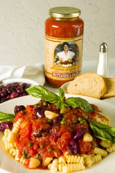 Puttanesca Sauce from Mamma Lombardi's in Holbrook NY - also available online at www.mammalombardissauce.com